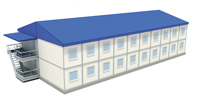 Скопинское обособленное структурное подраздеие ФГБОУ ВПО РГАЗУ - иконка «общежитие» в Кораблино